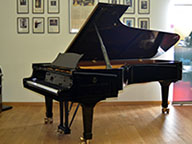 <span>Piano demi-queue Steinway&sons B211 noir brillant</span>