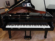 <span> Piano 1/4 de queue Steinway&Sons O180 Noir brillant </span>